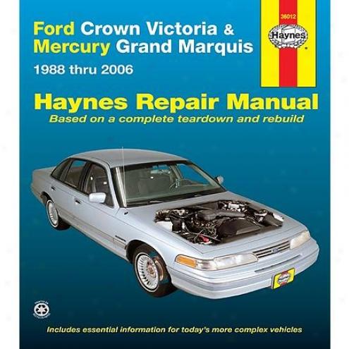 Haynes Repair Manual - Vehicle - 36012