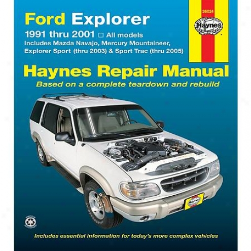 Haynes Repair Manual - Vehicle - 36024