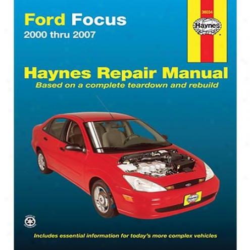 Haynes Repair Manual - Vehicle - 36034