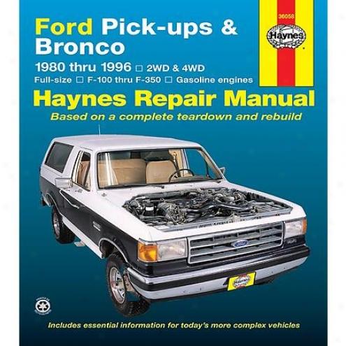 Haynes Repair Manual - Vehicle - 36058