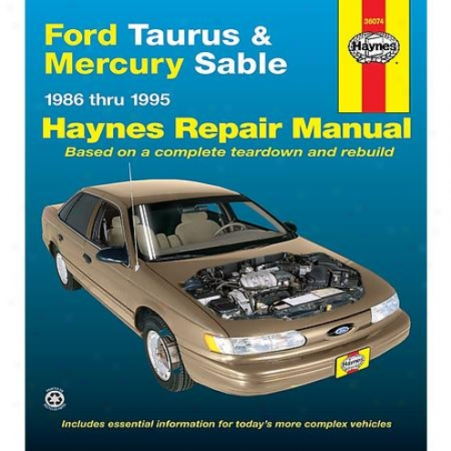 Haynes Repair Manual - Vehicle - 36074