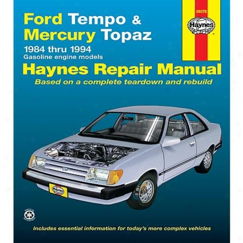 Haynes RepairM anual - Vehicie - 36078