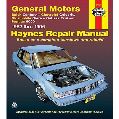 Haynes Repiar Manual - Vehicle - 38005