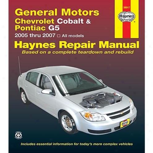 Haynes Repair Manual - Vehicle - 38017