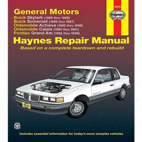 Haynes Repair Manua1 - Vehicle - 38025
