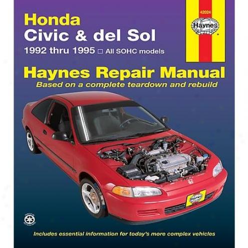 Haynes Repair Manual - Vehicle - 42024