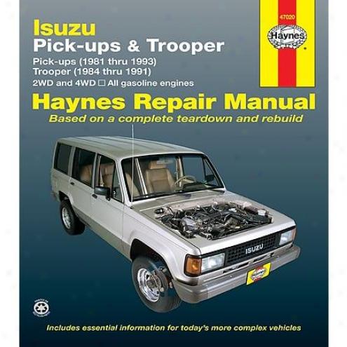 Haynes Repair Manual - Vehicle - 47020