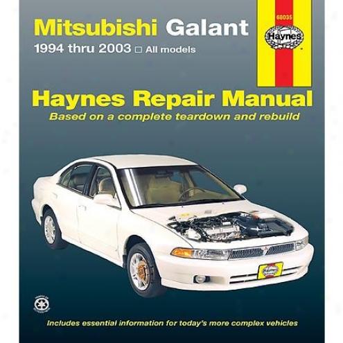 Haynes Repair Manial - Vehicle - 68035