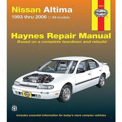 Haynes Repair Manual - Vehicle - 72015
