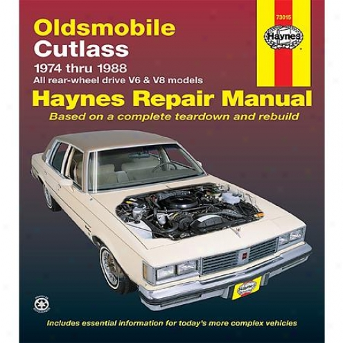 Haynes Repair Manual - Vehicle - 73015