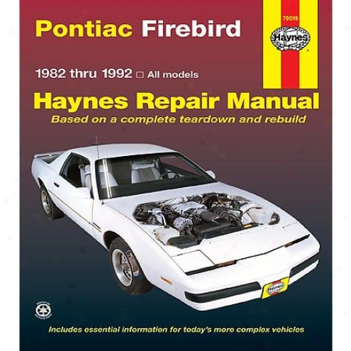 Haynes Repair Manual - Vehicle - 79019