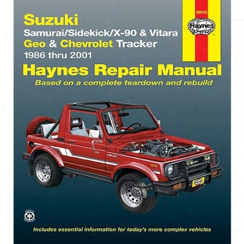 Haynes Repair Manual - Vehicle - 90010