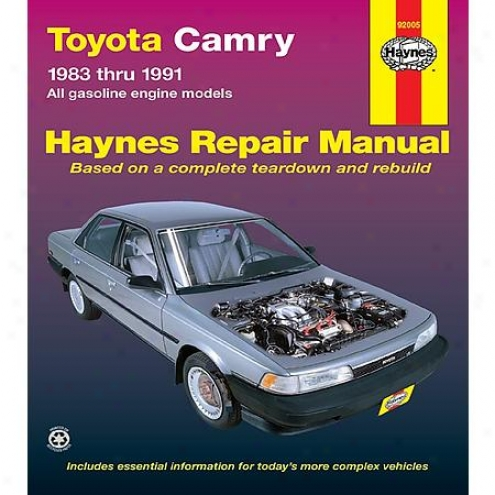 Haynes Repair Manual - Vehicle - 92005