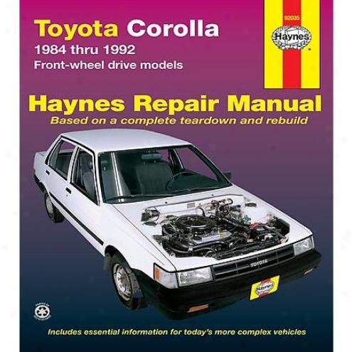Haynes Repair Of the hand - Vehicle - 92035