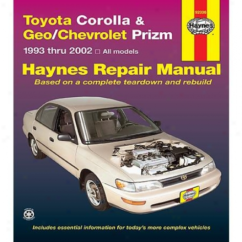 Haynes Repair Manual - Vehicle - 92036
