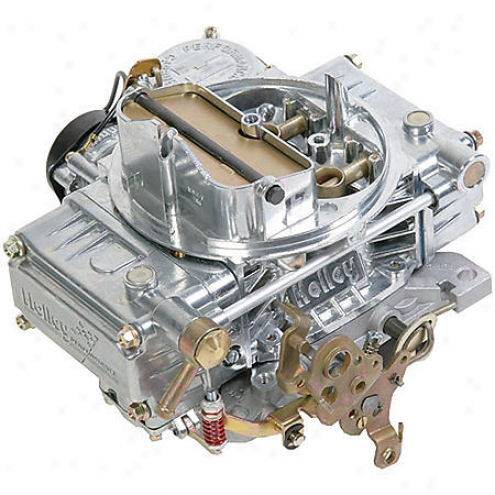 Holley 600 Cfm Four-barrel Street Carburetor - 0-80457s