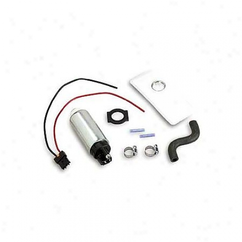 Holley In-tank Electric 255 Lph Fuel Pump Ford Mustang - 12-902