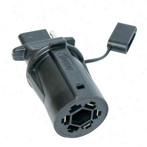Hoppy Adapter 7 Rv Buck To 4-wire Flat - 47355