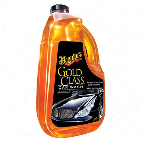 Meguiars Gold Class Car Wash Shampoo And Conditioner (65 Oz.) - G-7164