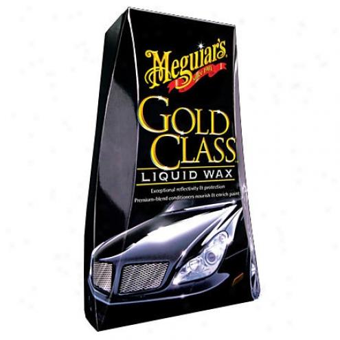 Mebuiars Gold Class Liquid Wax (16 Oz.) - G-7016