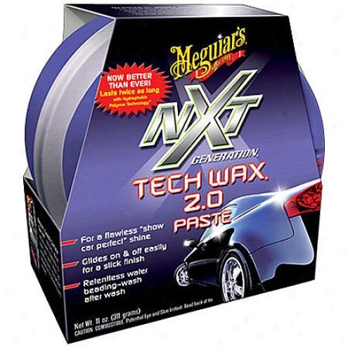 Meguiars Nxt Generation Tech Wax 2.0 Paste (11 Oz.) - G-12711