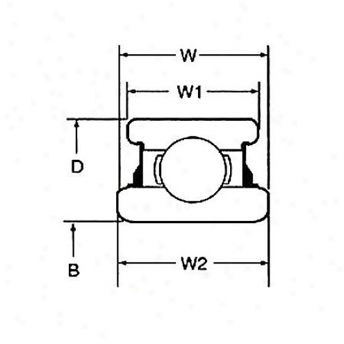 Motor City Wheel Bearing - Rear - S-514003