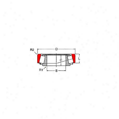 Motor City Wheel Bearing - Rear - S-a-10
