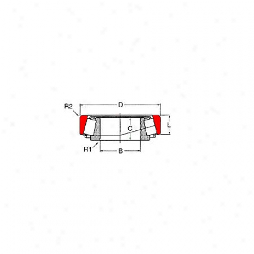 Motor City Wheel Bearing - Rear - S-a-39