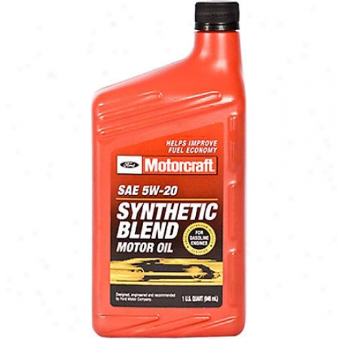 Motorcraft 5w-20 Synthetic Blend Motor Oil (1 Qt.) - Xo5w20qsp