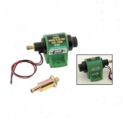 Mr. Gasket Elec Fuel Pump Diesel - 12d