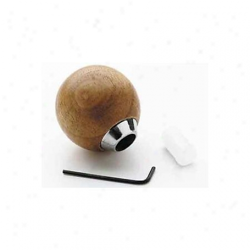 Mr. Gasket Gearshift Ball Wood Hp - 9620