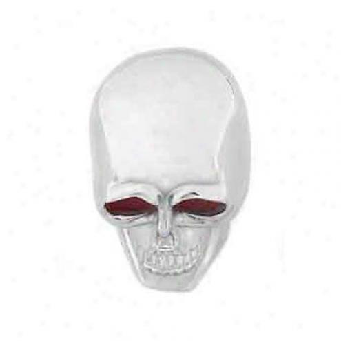 Mr. Gasket Trickster Knob Chrom Skull - 9628