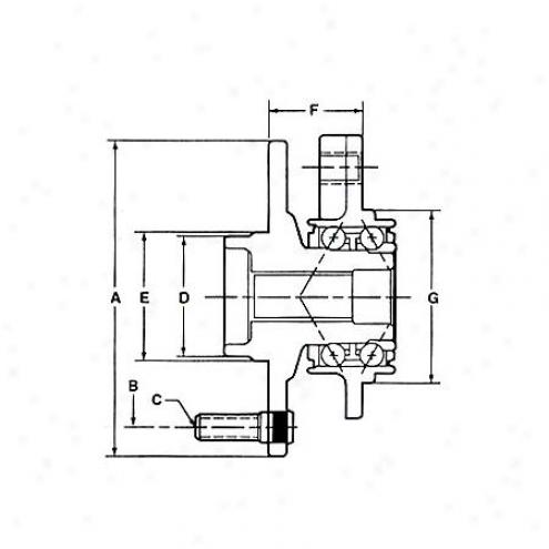 National Wheel Bearing - Forepart - 518506