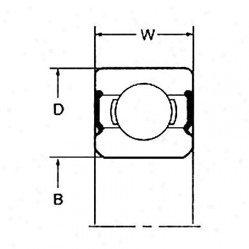 National Wheel Bearing - Rear - Rw-207-ccra