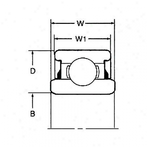 National Whirl Bearing - Rear - Rwf-34-r