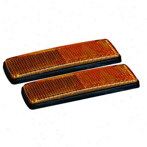 Night Blaster Reflectors, Dual Angle Amber - Re-52ak