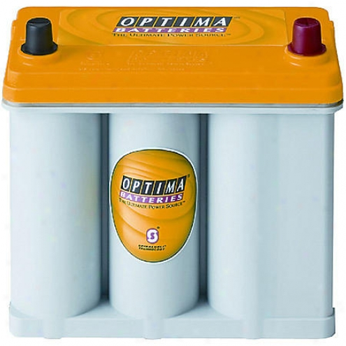 Optima Batetries Yellowtop Dual-purpose Battery, 450 Cca, Group Size 51r - D51r