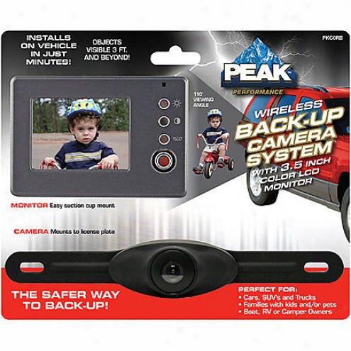 Peak 3.5-inch Wjreless Backup Camera System - Pkcorb