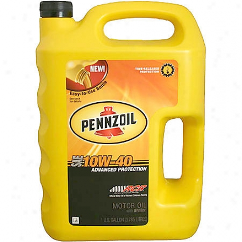 Pennzoil 10w-40 Conventional Motor Oil (1 Gallon) - 5073585
