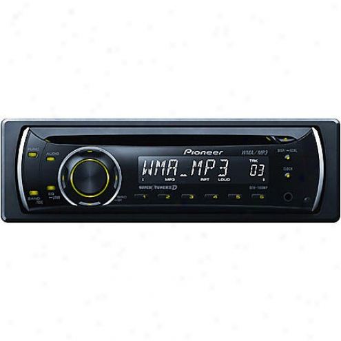 Pioneer Electronics A/fm Cd In-dash Deck - Deh-1100mp