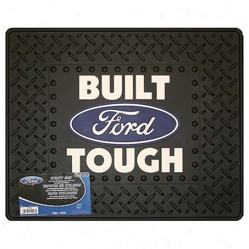 Plasticolor Ford Built Tough Uility Mat - 1013