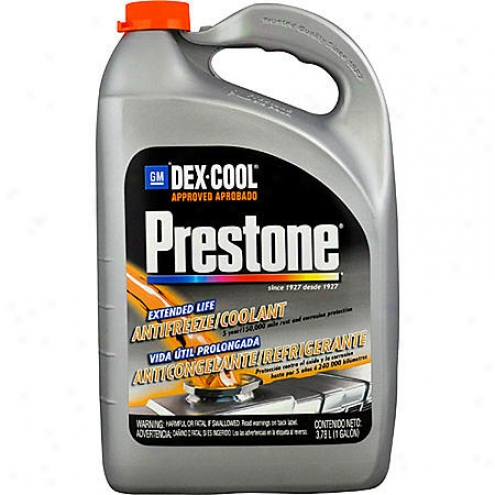 Prestone Dex-cool Extended Life Antifreeze/coolant (1 Gallon) - Af-888