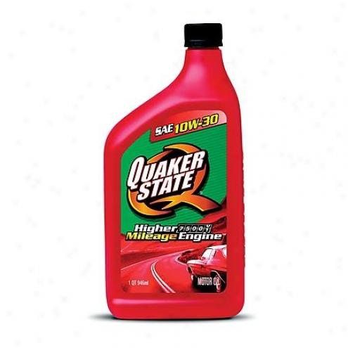 Quaker State Peak Performance High Mileage 10w-30 Conventional Motor Oil (1 Qt.) - 59672