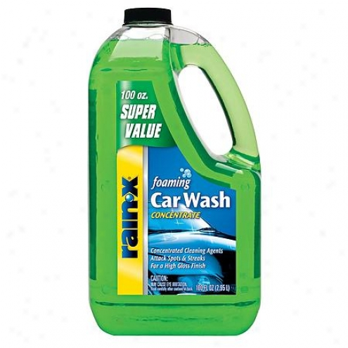 Rain X Foaminv Car Wash Concentrate (100 Fl. Oz.) - 5072084