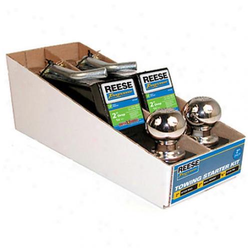 Reese Towpower Towing Starter Kit - 2 Inch Drop - 21536/21536rak/