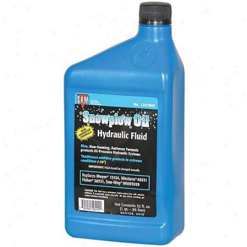 Snowplow Aftermarket Mfg Oil Snow Plow - 1307005