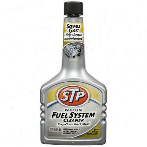 Stp Complete Fuel System Cleaner (12 Oz.) - 78358/78359