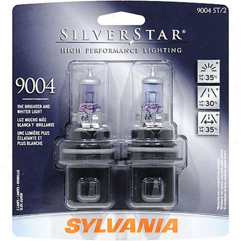 Sylvania 9004st Twin Dual-beam Headlight Bulb (2-pack) - 9004 St/2