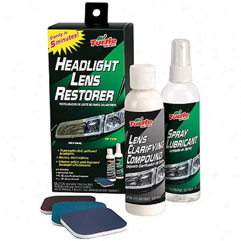Turtlewax Headlight Lens Restorer Kit - T240kt