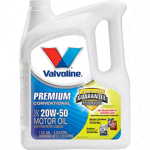 Valvoline 20w-50 Conventional Motor Oil (1 Gallon) - Vv162